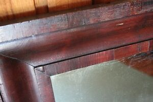 Large Antique Wood Framed Mirror     (VIEW OTHER ADS) Kitchener / Waterloo Kitchener Area image 7