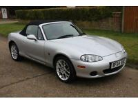 MAZDA MX-5 Euphonic ltd edn 2004 Petrol Manual in Silver