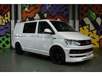 VW Transporter T6 T32 SWB 2.0TDI H/LINE KOMBI 204 DSG L/V SPORTLINE PK ABT FRONT