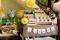 farm animal birthday party decorations for girls or boys