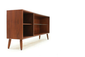 Mid Century Teakwood Bookcase or Media Console