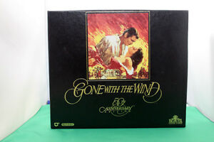 VHS GONE WITH THE WIND 50th anniversary addition  1989