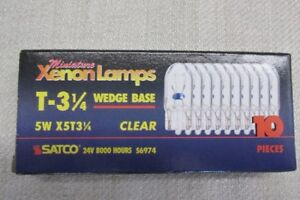 Various Low Voltage Light Bulbs