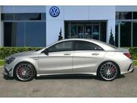 2017 Mercedes-Benz CLA CLASS 2.0 CLA45 AMG SpdS DCT 4MATIC (s/s) 4dr Auto Saloon