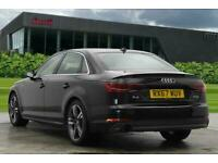 2017 Audi A4 S line 1.4 TFSI 150 PS 6-speed Saloon Petrol Manual