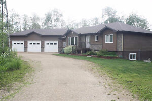 Absolute Beautiful Home Recently Built at St. Brieux Lake
