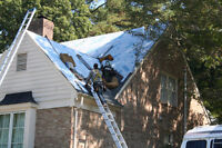 Roofing company shingles and flat roofs