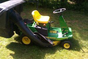 tracteur a gazon john deere sx85 30 pouce de tondeuse