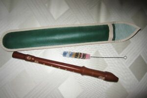 Wooden recorder by ROESSLER
