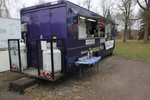 Used food truck in great condition