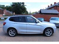 2012 12 BMW X3 2.0 XDRIVE20D M SPORT 5D AUTO 181 BHP DIESEL
