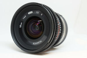 Rokinon 12mm f/2.0 NCS CS Lens for Sony E-Mount
