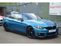 2017 BMW 4 Series 2.0 420d M Sport Auto (s/s) 2dr Convertible Diesel Automatic
