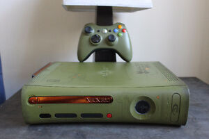 Xbox 360 Halo 3 Special Edition 20GB Green & Gold Console