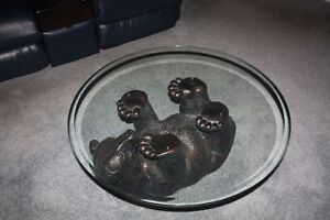 Novelty Glass Coffee Table