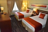 Newly Renovated Non-Smoking Hotel Rooms