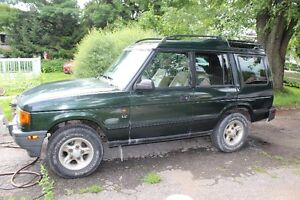 1998 Land Rover Discovery cuir VUS