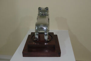 Mounted Chrome Mack Truck Bulldog Hood,Desk Ornament Paperweight London Ontario image 5