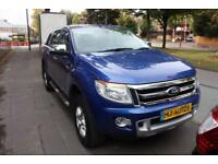 2014 14 FORD RANGER 2.2 LIMITED 4X4 DCB TDCI 148 BHP DIESEL
