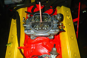 1986 Chevy 350 engine bored 0.040'' over