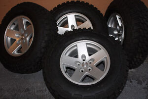 """""""5 Brand New Tires and Rims"""" (Jeep Rubicon)"""