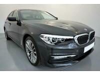 2017 GREY BMW 520D 2.0 SE DIESEL AUTO SALOON CAR FINANCE FR £305 PCM