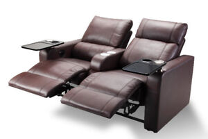 Electric loveseat with cup holders **back to school sale**