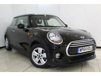 2014 64 MINI HATCH COOPER 1.5 COOPER PEPPER PACK 3DR 134 BHP