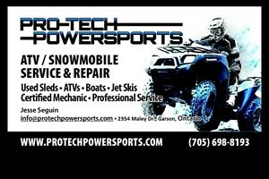 PRO-TECH POWERSPORTS--QUALITY SERVICE & REPAIRS TO ALL MAKES!!