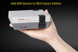 Add 669 Games to your NES Classic