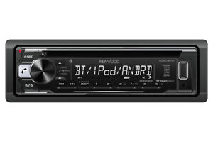 Kenwood KDC-BT21 Bluetooth 1-DIN CD/MP3 and Front USB Input