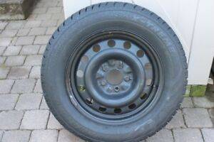 215/65R16 winter tires and rims. Set of 4