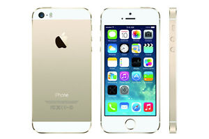 Apple iPhone 5S, 16GB, Gold, Bell/Virgin (NEW Warranty Replaceme