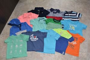 12-18 month and 18 month toddler boys tops