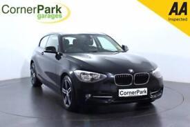 2013 BMW 1 SERIES 120D SPORT HATCHBACK DIESEL