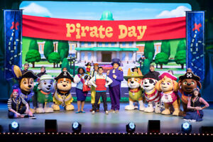 Paw Patrol afternoon show - 10th row floor seats