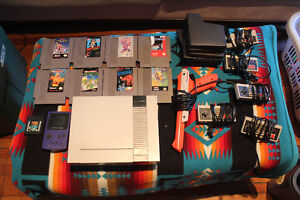 Original Nintendo collection for sale and Gameboy Colour
