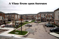 1800Sq.ft Town home with private wide terrace in Milton