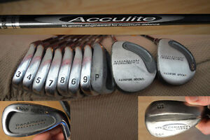 Tour Select 11 Clubs with Bag