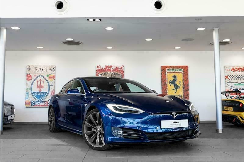 2017 Tesla Model S 75D Saloon Electric Automatic