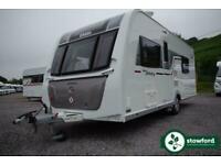 Elddis Affinity 574, 2016, 4 Berth, Touring Caravan