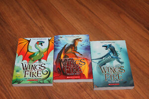 wings of fire 2, 3 and 4