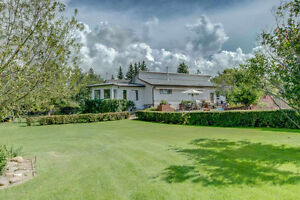 Parkland County 7 acres with huge 2500 sq ft house and shop