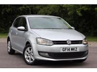 2014 VOLKSWAGEN POLO MATCH EDITION HATCHBACK PETROL