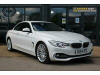 2015 BMW 4 Series 2.0 428i Luxury Auto 2dr Convertible Petrol Automatic