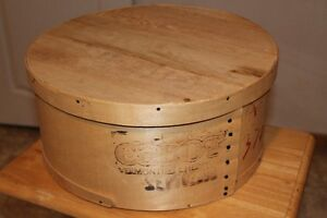 Wooden Cheese Crate
