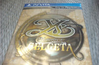 YS IV: MEMORIES OF CELCETA COLLECTORS EDITION - BRAND NEW!
