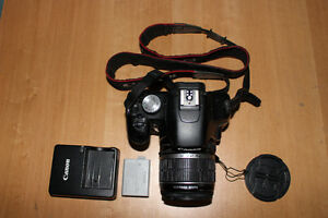 Canon T1i DSLR, with lens cap, charger and battery - NEGOCIABLE Gatineau Ottawa / Gatineau Area image 2