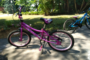 """Girls supercycle freestyle pink bmx 20"""" wheels"""