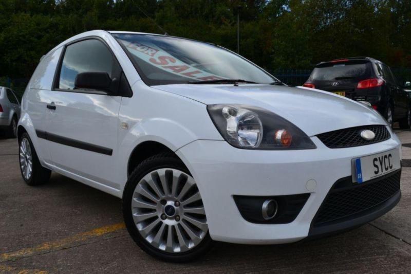 Ford Fiesta 1.6 Tdci Sport Van For Sale >> 2008 Ford Fiesta 1 6 Tdci Sport Van 3 Door Commercial In
